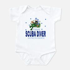 Future Scuba Diver Like Grandma Infant Bodysuit