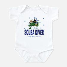 Future Scuba Diver like Aunt Baby Infant Bodysuit