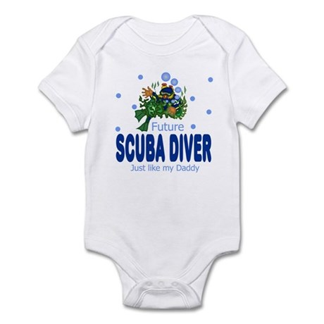 Future Scuba Diver like Daddy Baby Infant Bodysuit