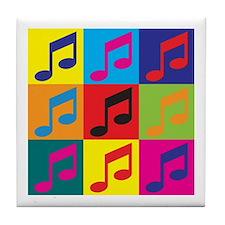 Orchestra Pop Art Tile Coaster
