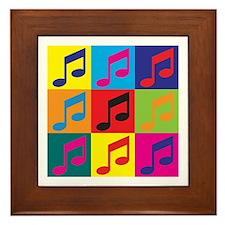 Orchestra Pop Art Framed Tile