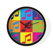 Orchestra Pop Art Wall Clock