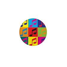 Orchestra Pop Art Mini Button