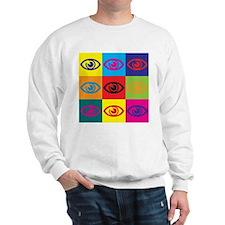 Optometry Pop Art Sweatshirt