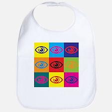 Optometry Pop Art Bib