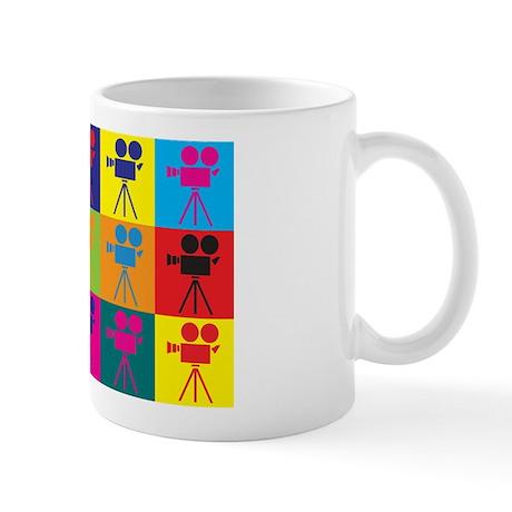 Operating a Camera Pop Art Mug