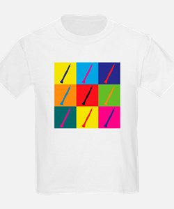 Oboe Pop Art T-Shirt