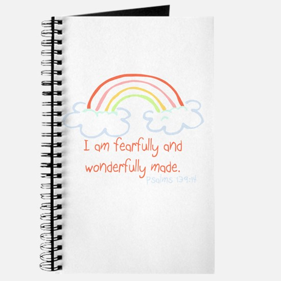 I am fearfully and wonderfully made Journal