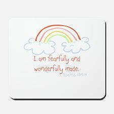 I am fearfully and wonderfully made Mousepad
