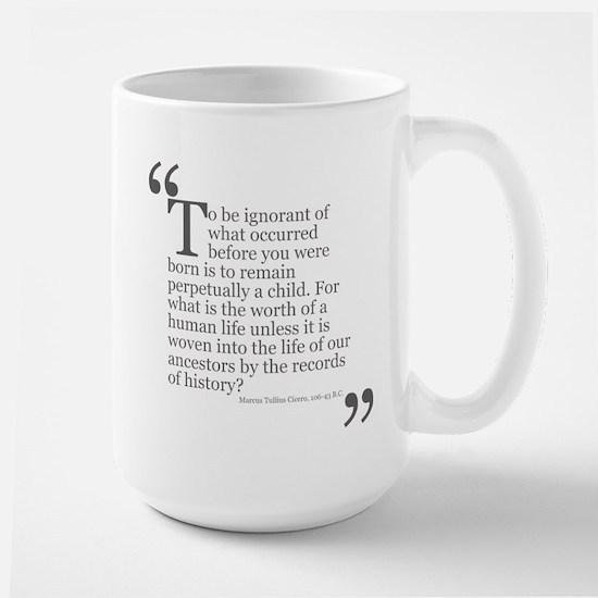 Life Of Our Ancestors Large Mug