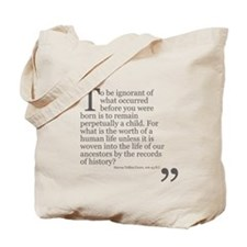 Life Of Our Ancestors Tote Bag