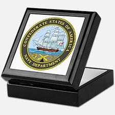 Confederate Navy Keepsake Box
