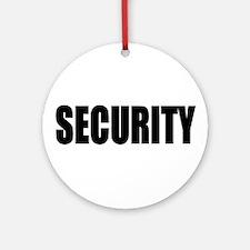 Security Keepsake (Round)