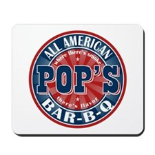 Pop's All American BBQ Mousepad