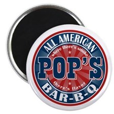 "Pop's All American BBQ 2.25"" Magnet (10 pack)"