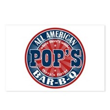 Pop's All American BBQ Postcards (Package of 8)