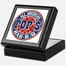 Pop's All American BBQ Keepsake Box