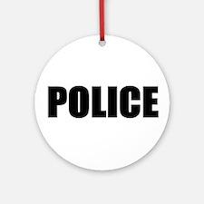 Police Keepsake (Round)