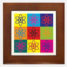 Nuclear Engineering Pop Art Framed Tile