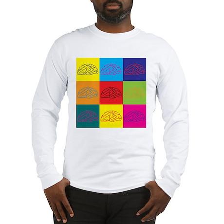 Neuroscience Pop Art Long Sleeve T-Shirt