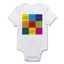 Neuroscience Pop Art Infant Bodysuit