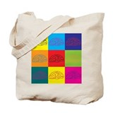Brain Canvas Totes