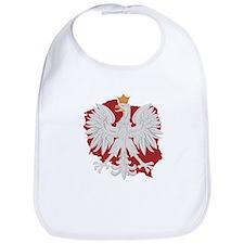 Poland White Eagle Design Bib
