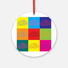 Neurology Pop Art Ornament (Round)