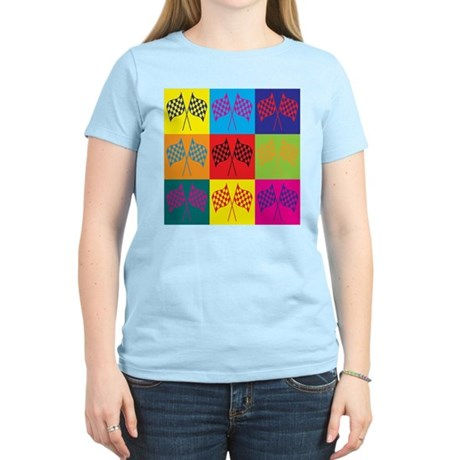 NASCAR Pop Art Women's Light T-Shirt