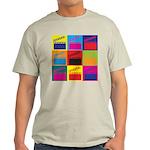 Movies Pop Art Light T-Shirt