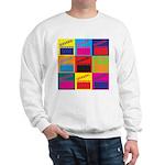 Movies Pop Art Sweatshirt