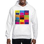 Movies Pop Art Hooded Sweatshirt
