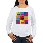 Movies Pop Art Women's Long Sleeve T-Shirt