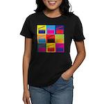 Movies Pop Art Women's Dark T-Shirt