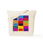 Movies Pop Art Tote Bag