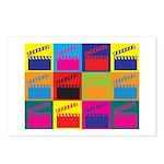 Movies Pop Art Postcards (Package of 8)