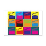 Movies Pop Art Mini Poster Print
