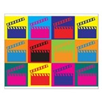 Movies Pop Art Small Poster