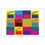 Movies Pop Art Large Poster