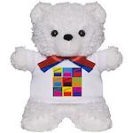 Movies Pop Art Teddy Bear