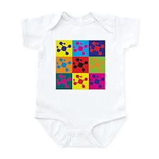 Molecular Biology Pop Art Infant Bodysuit