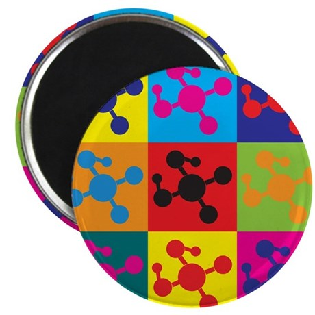 Molecular Biology Pop Art Magnet