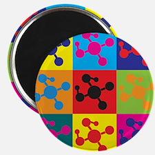 Molecular Biology Pop Art Magnet