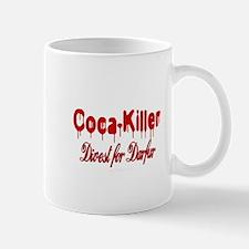 Coca-Killer/Divest for Darfur Mug
