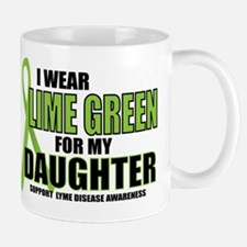 LD: Lime Green For Daughter Mug