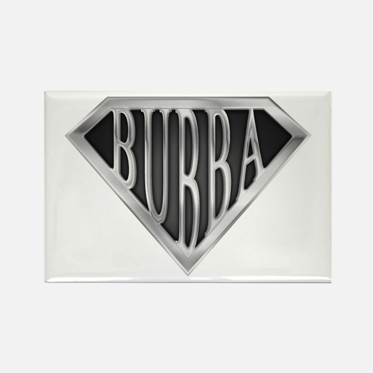 SuperBubba(metal) Rectangle Magnet