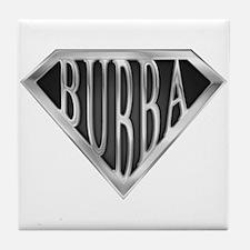 SuperBubba(metal) Tile Coaster