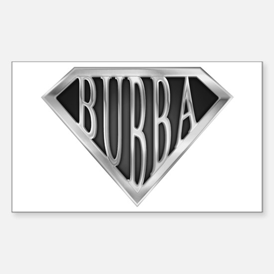 SuperBubba(metal) Rectangle Decal
