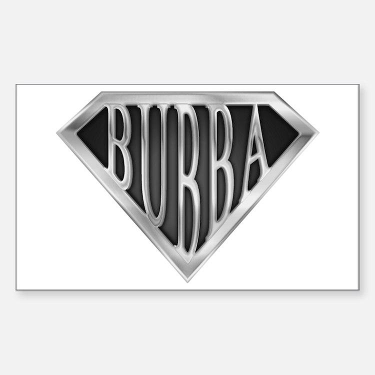 SuperBubba(metal) Rectangle Decal
