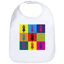 Midwifery Pop Art Bib